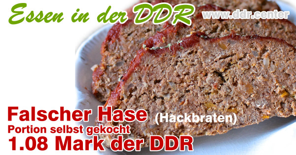 Falscher Hase (Hackfleisch)