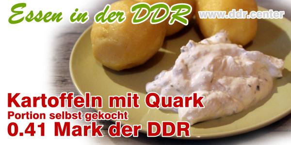 Kartoffeln mit Kräuterquark
