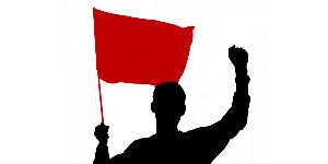 Ich trage eine Fahne