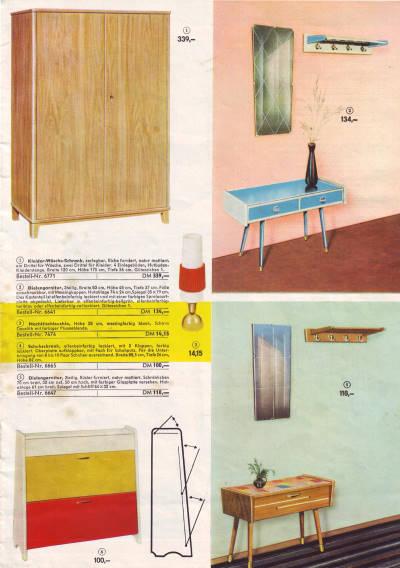 KONSUM Katalog Versandhandel 1962 - Wohnen in der DDR - Seite 14/15
