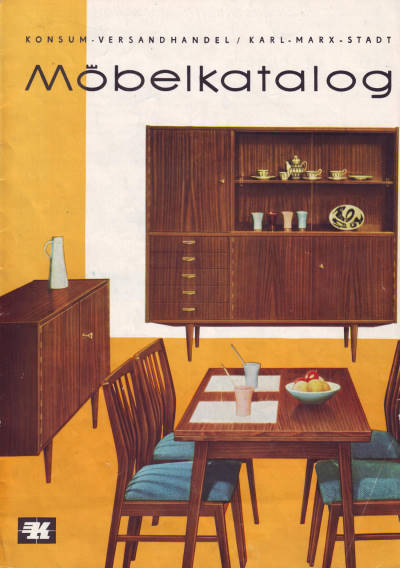 konsum katalog versandhandel 1962 wohnen in der ddr seite 0 1. Black Bedroom Furniture Sets. Home Design Ideas