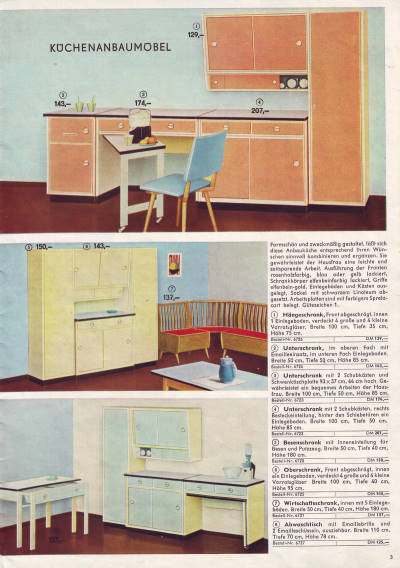 konsum katalog versandhandel 1962 wohnen in der ddr seite 2 3. Black Bedroom Furniture Sets. Home Design Ideas