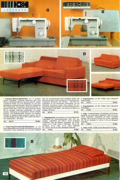 8cd3f5640ca58b Konsument Versandhandel Katalog Winter 1974 - Bequem einkaufen von zuhause  aus! - Seite 146 147