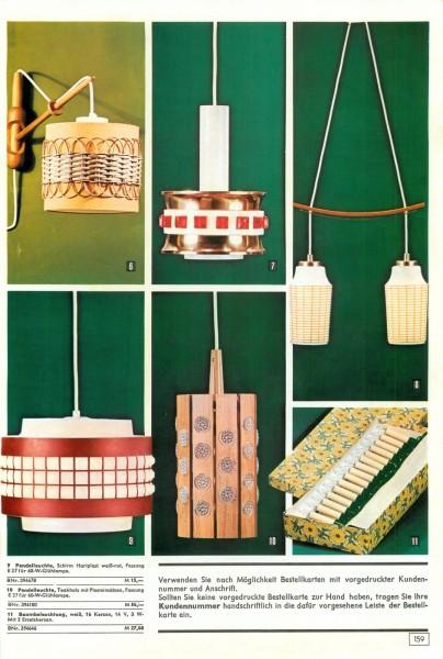 konsument versandhandel katalog winter 1974 bequem einkaufen von zuhause aus seite 158 159. Black Bedroom Furniture Sets. Home Design Ideas