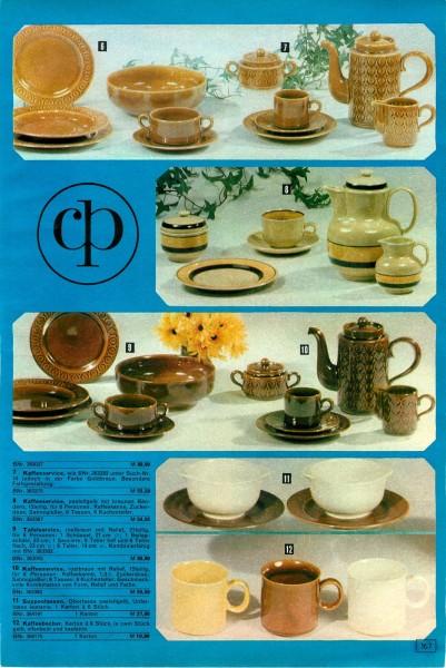 konsument versandhandel katalog winter 1974 bequem einkaufen von zuhause aus seite 166 167. Black Bedroom Furniture Sets. Home Design Ideas