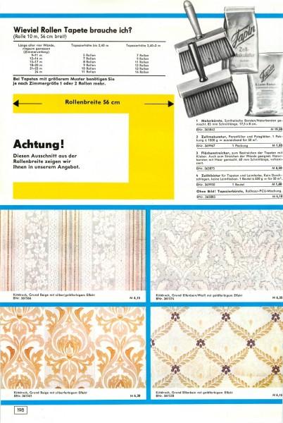 konsument versandhandel katalog winter 1974 bequem einkaufen von zuhause aus seite 198 199. Black Bedroom Furniture Sets. Home Design Ideas