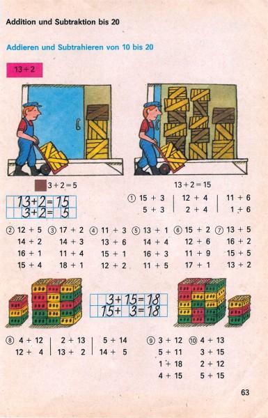 ddr schulbuch mathematik klasse 1 seite 62 63. Black Bedroom Furniture Sets. Home Design Ideas
