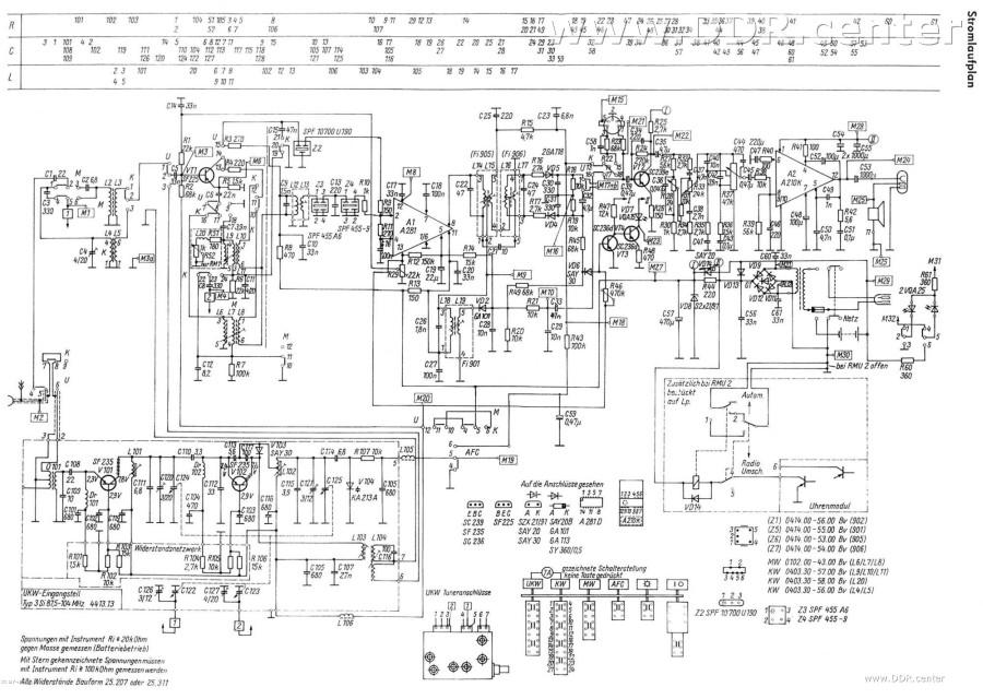 Schaltplan Radio Sound Solo - RFT VEB Elektro-Apparate-Werke EAW ...