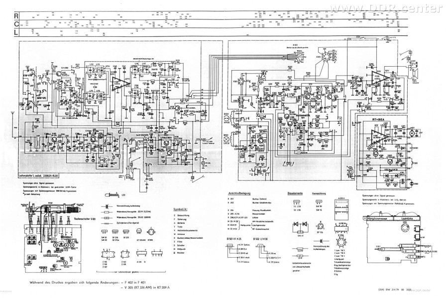 Schaltplan Radiorecorder Babett - RFT Kombinat VEB Stern-Radio ...