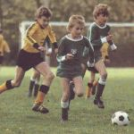 Spartakiade 1986 Fussball AK12 Dresden gegen Halle
