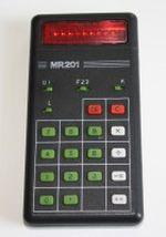 Taschenrechner MR 210 VEB Roehrenwerk Muehlhausen Seite 1