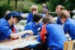 Schachspielen nach der Schule