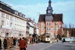 Eisenach Karlsplatz mit Rathaus und Stadtschloss