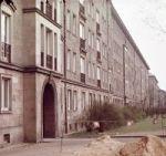 Dresden: Wohnblock an der Grunaer Strasse