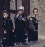 Drei Kinder in den 50er Jahren