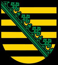 Wappen von Freistaat Sachsen