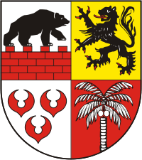 Wappen von Anhalt-Bitterfeld