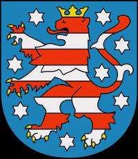 Wappen von Freistaat Thüringen