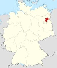Lage von Barnim in Deutschland
