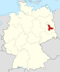 Lage von Dahme-Spreewald in Deutschland