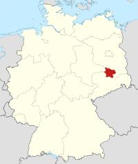 Lage von Elbe-Elster in Deutschland