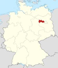 Lage von Havelland in Deutschland