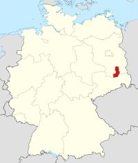 Lage von Oberspreewald-Lausitz in Deutschland
