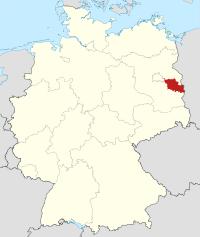 Lage von Oder-Spree in Deutschland