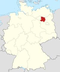 Lage von Ostprignitz-Ruppin in Deutschland