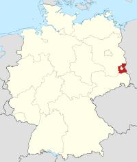 Lage von Spree-Neiße in Deutschland