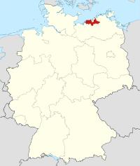 Lage von Bad Doberan in Deutschland