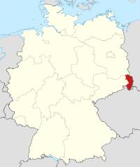 Lage von Görlitz in Deutschland