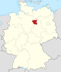 Lage von Altmarkkreis Salzwedel in Deutschland