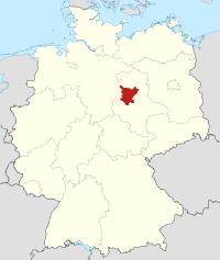 Lage von Börde in Deutschland