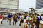 Alexanderplatz 1973 zu den Weltfestspiele in Ostberlin