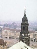 Kreuzkirche in Dresden 1955