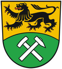 Wappen von Erzgebirgskreis