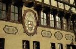 Sonnenuhr am Stolberger Rathaus