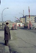 Grenzübergang Prinzenstraße Heinrich Heine Straße im amerikanischen Sektor von Westberlin