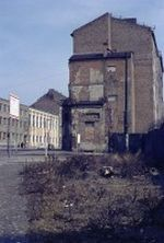 Die Bernauer Straße im Französischem Sektor von Westberlin
