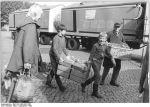 Eisenhüttenstadt, Kinder sammeln Altstoffe