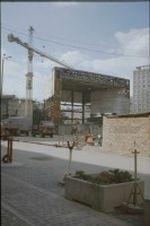 Baustelle neues Gewandhaus in Leipzig