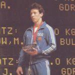 Europameister 1986 im Gewichtheben Andreas Behm