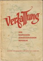 Entwurf der Verfassung der DDR