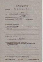 Änderungsvertrag für einen Arbeitsvertrag Seite 1