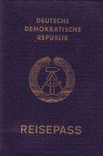 Reisepass der DDR