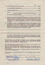 Arbeitsvertrag VEB Sachsenpelz Naunhof 1988 Seite 2