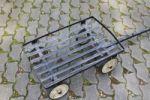 Rollfix - kleiner Handwagen aus Metall
