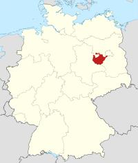 Lage von Potsdam-Mittelmark in Deutschland