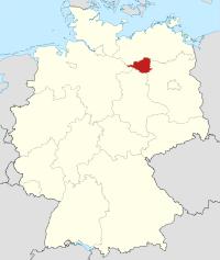 Lage von Prignitz in Deutschland